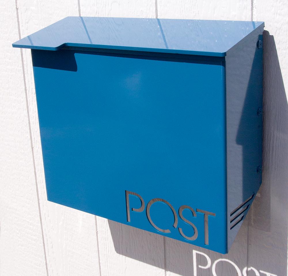 Moda Industria Modern Mailbox 1711 Powder Coated Aluminum