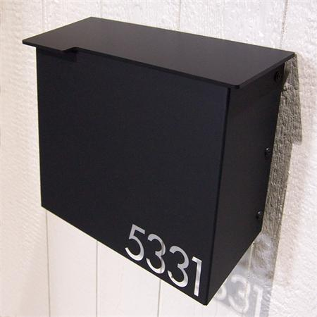 Moda Industria Modern Mailbox 1711 Powder Coated Aluminum
